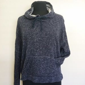 Lucky Lotus Lucky Brand Cowl Neck Hoodie